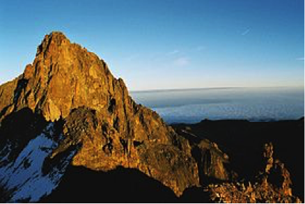 Figure 1. Warming in places like Mount Kenya is steeper than current climate models predict.