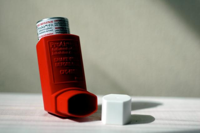 Figure 1: This is an image of a typical asthma inhaler. With further development of MPPs, the drugs within these inhalers will be more effective than they are currently.