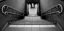 Figure 1: Stairs are frequently a major obstacle for individuals with neuromuscular conditions.