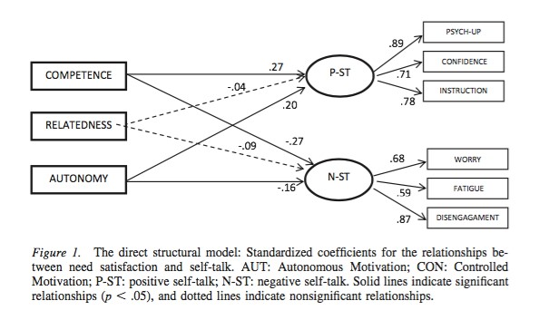 Caption: Multiple factors affect athletes performance and their self-talk tendencies.